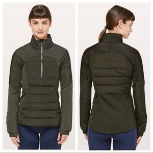 Lululemon Down For It All Pullover Sz 6